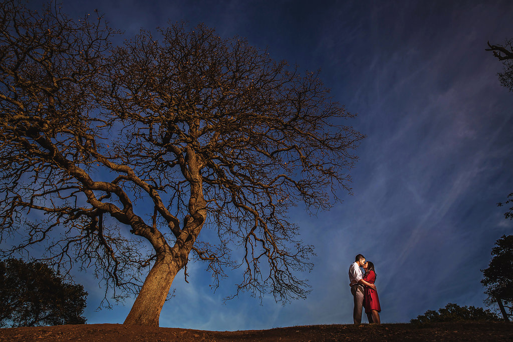 stanford engagement session