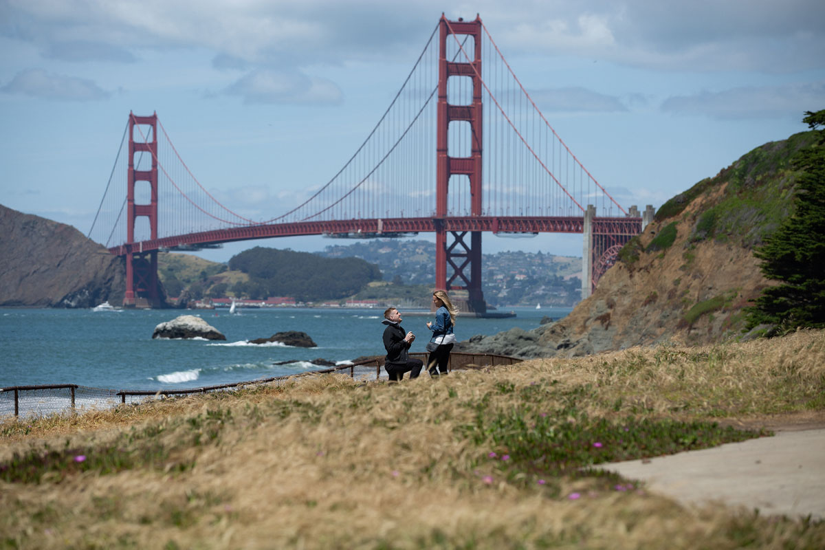 baker beach surprise proposal
