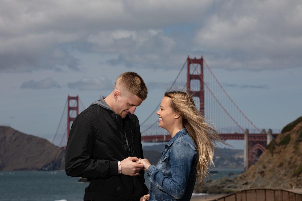 baker beach surprise proposal
