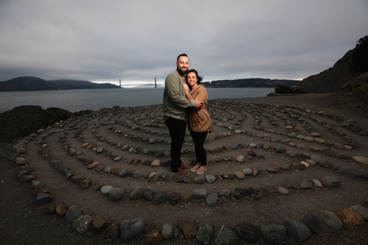 lands end labyrinth proposal