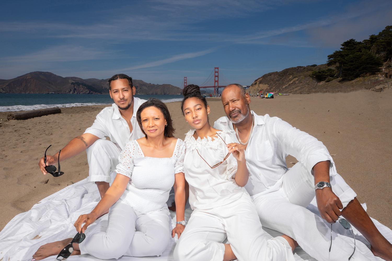 baker beach family session